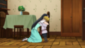 Geera et Zeal câlin anime