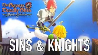 The Seven Deadly Sins Knights of Britannia - PS4 - Sins & Knights
