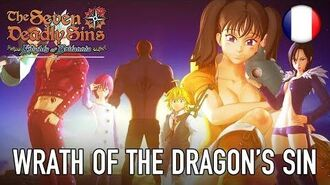 The Seven Deadly Sins Knights of Britannia - PS4 - Wrath of the Dragon's Sin (French)
