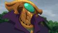 Helbram armure de profil anime