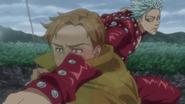 Ban attaque l'illusion de Weinheidt dans l'anime