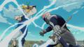 Gilthunder VS Meliodas anime