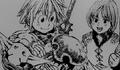Meliodas avec jeune Gilthunder