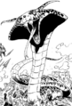Merascylla forme serpent