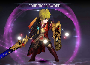 Evan - Four Tiger Sword