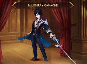 Teo - Blueberry Ganache