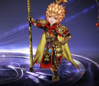Enlightened Warrior Sun Wukong