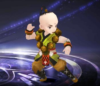 Spirited Monk Li