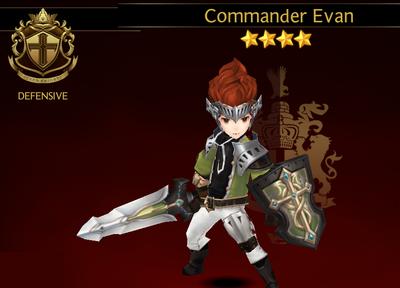 Commander Evan