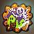 Legendary Green Skull Cookie
