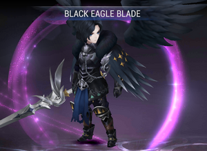 Kris - Black Eagle Blade