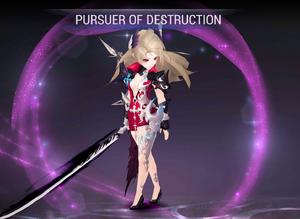 Shane - Pursuer of Destruction