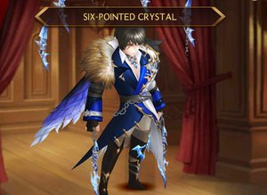 Kyle - Six-Pointed Crystal