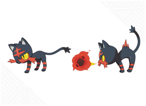Sun and Moon Litten