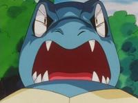 Ash Totodile Scary Face