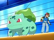 Ash and Bulbasaur