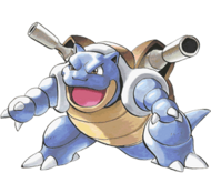 Green (Adventures)'s Blastoise