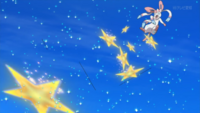 Serena's Sylveon uses Swift