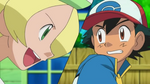 Ash and Bianca 1st Battle