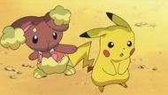 Buneary and Pikachu