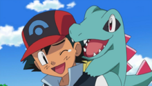 250px-Ash and Totodile