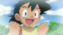 Ash as child