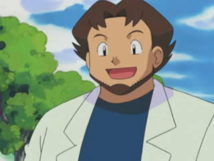 Professor Birch Anime