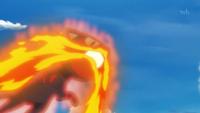 Litten uses Fire Fang