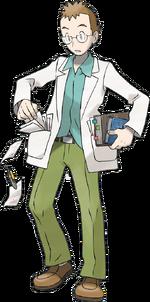 HeartGold SoulSilver Professor Elm