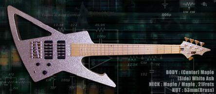 ESP Metalbird -Suke Bass 5-