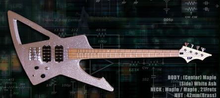 ESP Metalbird -Ero Bass-