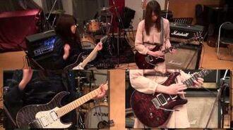 LoVendoЯ (Gt:魚住有希&宮澤茉凜)初のINST曲作って、弾いてみた!
