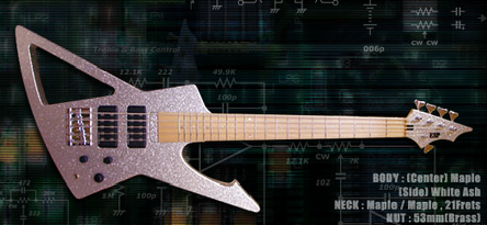 ESP Metalbird -Ero Bass 5-