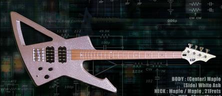 ESP Metalbird -Suke Bass-