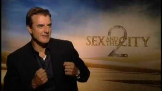 SATC 2 Junket Soundbites Chris Noth Part 1