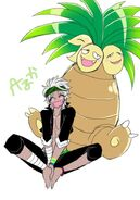 Narumi and his pokemon