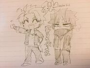 Kai and junpei winter clothes