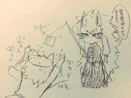 Konjiki and kitsune