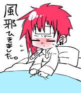 Takumi sick