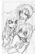 Takumi,kurumi,ibumi sketch