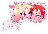 Kurumi and takumi
