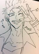 Junpei sketch doodle