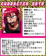 Takumi info card