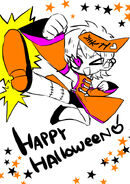 Happy halloween subaru