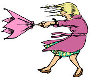 Very windy-clipart