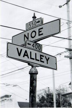 Noe Valley Street Signs