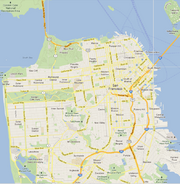 SF Google Map