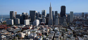 Sanfrancisco skyline