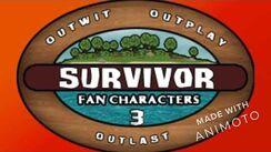 Survivor Fan Characters 3 Intro Video
