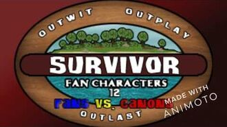 Survivor Fan Characters 12 Fans vs. Canons Intro Video